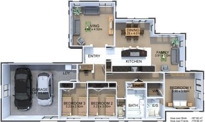 Generation Homes Plan Kauri