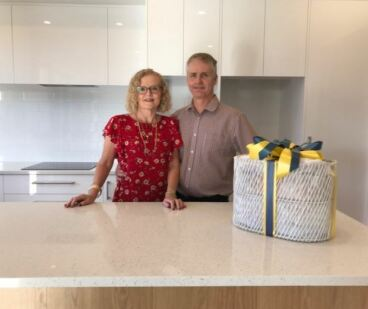 Generation Homes Auckland North client reference - Michelle and Grant  find the perfect space for their new home