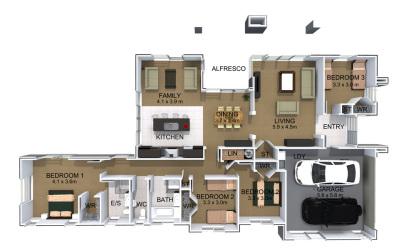 Generation Homes Plan Manuka