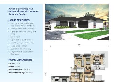Generation Homes Rotorua / Taupo House and Land Packages - Unique Location @ Lot 15 St Pat's