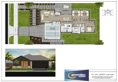 Generation Homes Rotorua / Taupo House and Land Packages - Lot 77: Reserve and Mountain Outlook