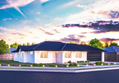 Generation Homes Christchurch House and Land Packages - Lot 7 - East Maddisons 3 bed and big backyard