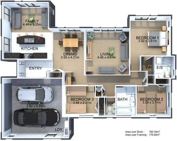 Generation Homes Plan McClay