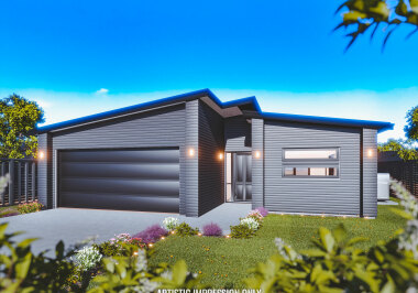 Generation Homes Christchurch House and Land Packages - Lot 23 - Branthwaite - walking distance to Rolleston College