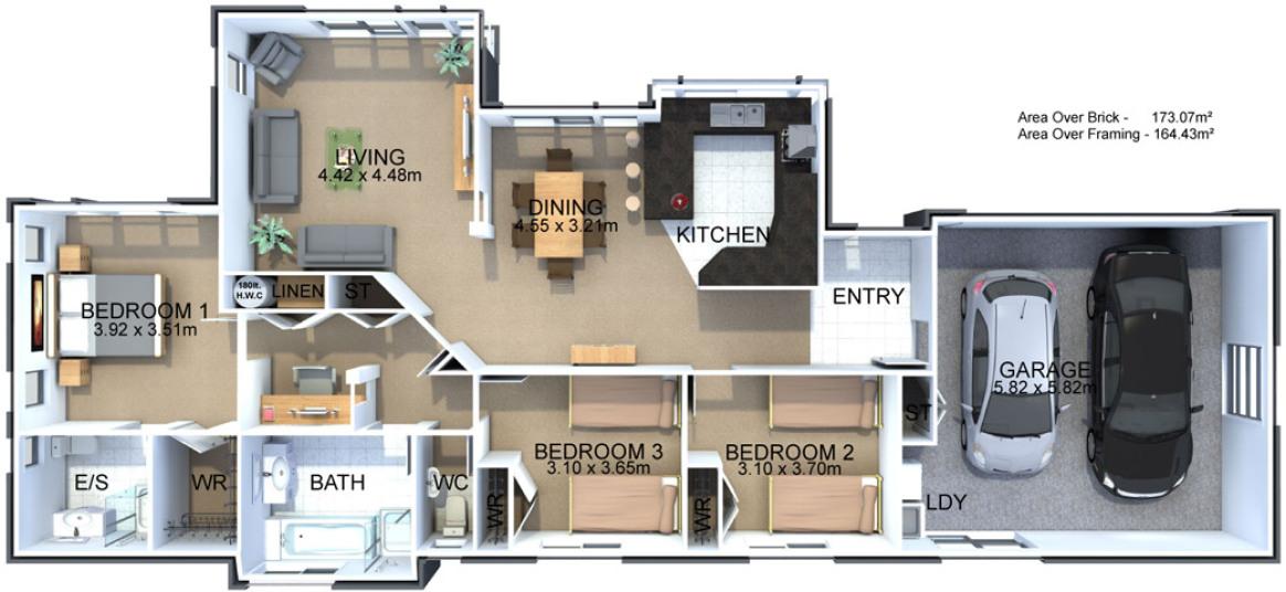 Generation Homes Plan Monaco