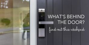 What's behind the door? Find out and WIN