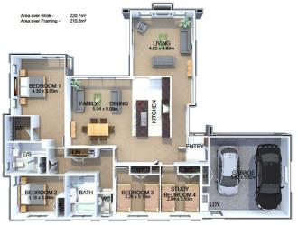 Generation Homes Plan Opaki