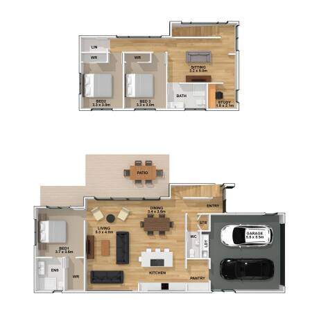Generation Homes Package Milldale - Lot 66 Contemporary Design