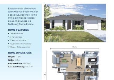 Generation Homes Taupo, Rotorua, Kawerau House and Land Packages - Close to Town (Lot 5)