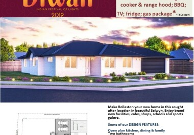 Generation Homes Christchurch House and Land Packages - DIWALI FREE UPGRADES lot 7 East Maddisons, Rolleston 168sqm