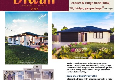Generation Homes Christchurch House and Land Packages - DIWALI FREE UPGRADES lot 22 Branthwaite, Rolleston