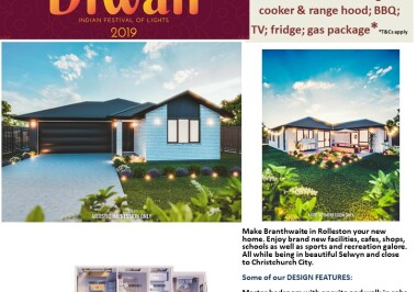 Generation Homes Christchurch House and Land Packages - DIWALI FREE UPGRADES lot 24 Branthwaite, Rolleston