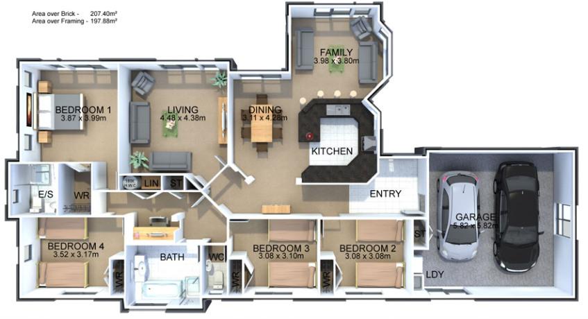 Generation Homes Plan Parkwood
