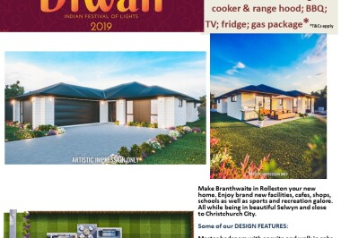 Generation Homes Christchurch House and Land Packages - DIWALI FREE UPGRADES lot 25 Branthwaite, Rolleston