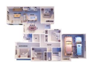 Generation Homes Package Lot 26 Branthwaite, Rolleston (linea)