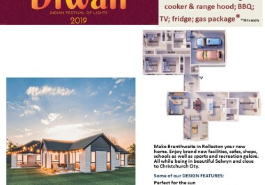 Generation Homes Christchurch House and Land Packages - DIWALI FREE UPGRADES lot 29 Branthwaite brick