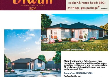 Generation Homes Christchurch House and Land Packages - DIWALI FREE UPGRADES lot 27 Branthwaite, Rolleston