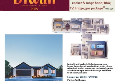 Generation Homes Christchurch House and Land Packages - DIWALI FREE UPGRADES lot 28 Branthwaite brick