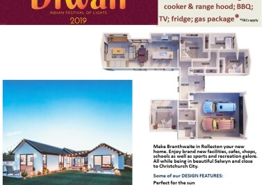 Generation Homes Christchurch House and Land Packages - DIWALI FREE UPGRADES lot 28 Branthwaite linea
