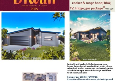 Generation Homes Christchurch House and Land Packages - DIWALI FREE UPGRADES lot 23 Branthwaite, Rolleston