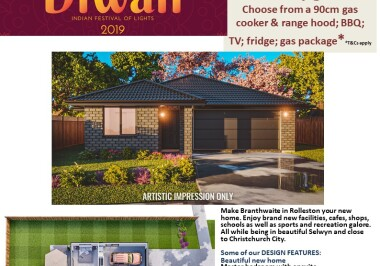 Generation Homes Christchurch House and Land Packages - DIWALI FREE UPGRADES lot 209 Branthwaite